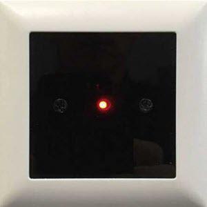 Touchless door sensor used on hospital door.