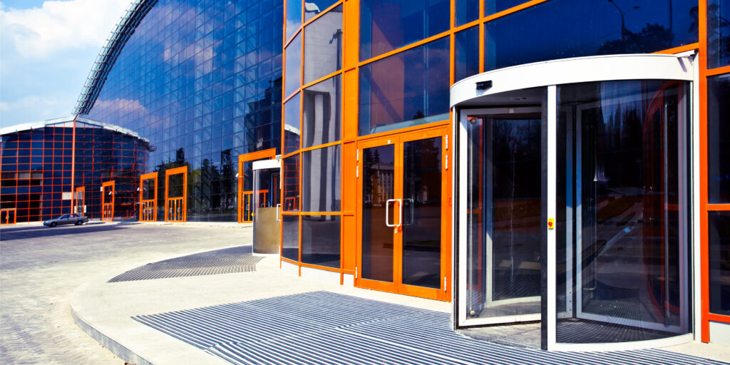 Commercial door options available in Perth, WA.